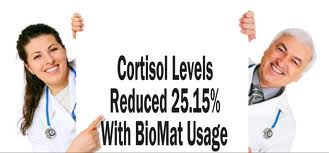 BioMat - Cortisol level reductions