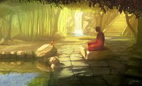 Meditation image - beautiful