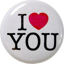 I Love You button